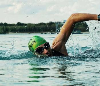 Entrainement natation en Triathlon