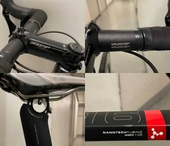 Vélo de route argon 18 et roues zipp