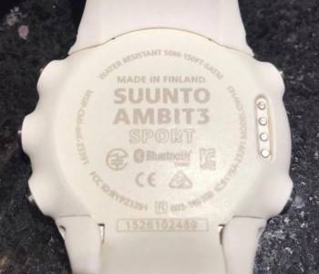 Montre multisport Ambit3 Sport Saphir (HR)